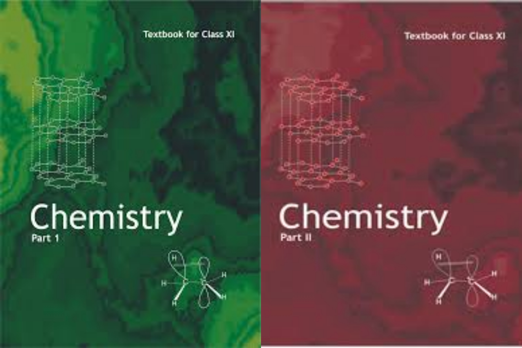NCERT Chemistry set of 2 books FOR CLASS 11th